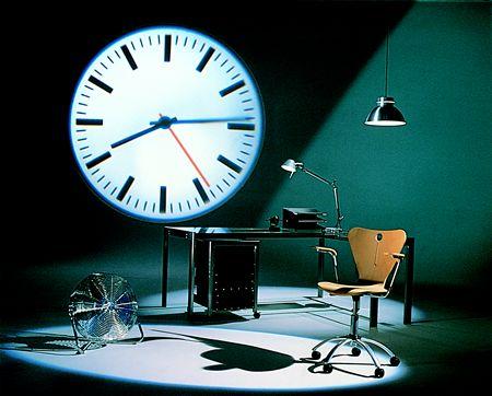 light projector clock